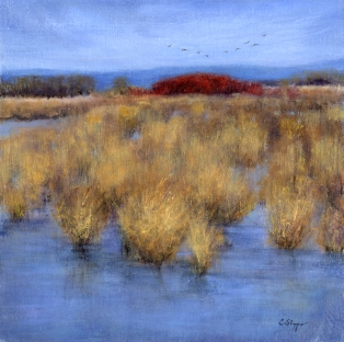 Winter Marsh (SOLD)