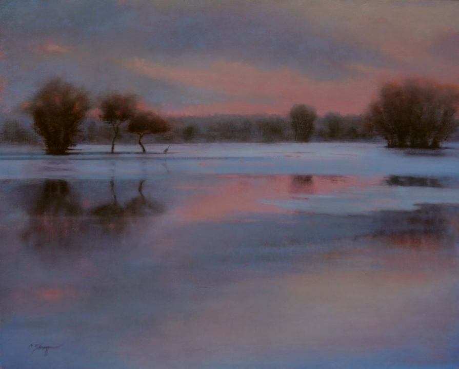 Winter Opalescence (SOLD)