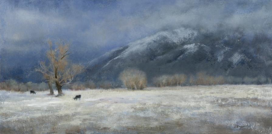 Taos Mountain Winter (SOLD)