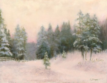 A Tenderness of Snowing (SOLD)