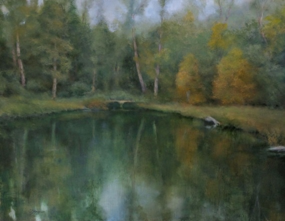 Pond Reverie (SOLD)