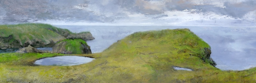 Headlands 12 x 36 inches
